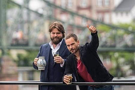 Wieder fürs ZDF im Einsatz: Wanja Mues (r) als Leo Oswald und Antoine Monot als Benni Hornberg. Foto: Andreas Arnold/dpa