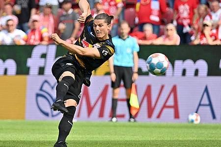 Wechselte die Seiten: Der ehemalige Leipziger Marcel Sabitzer spielt nun für den FC Bayern. Foto: Torsten Silz/dpa