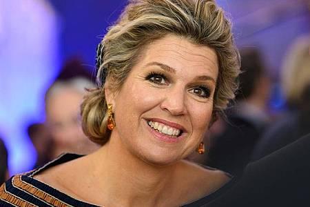 Glamour, Tango und máximales Strahlen: Die niederländische Königin Máxima wird 50. Foto: Mohssen Assanimoghaddam/dpa
