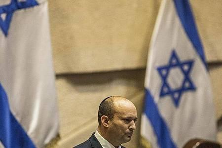 Naftali Bennett ist Vorsitzender der ultrarechten Jamina-Partei und designierter Premierminister. Foto: Ilia Yefimovich/dpa