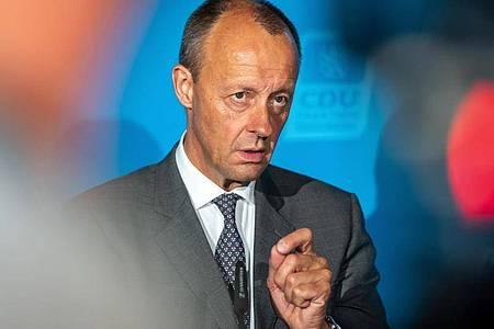 Friedrich Merz, Vizepräsident des Wirtschaftsrats der CDU. Foto: Michael Reichel/dpa