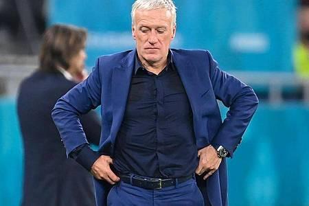 Der Trainer der «Equipe Tricolore»: Didier Deschamps. Foto: Robert Michael/dpa-Zentralbild/dpa