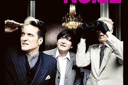 «Noise» ist die erste Single-Auskoppelung aus dem Album «Dunkel» der Punkrock-Band Die Ärzte. Foto: -/Die Aerzte/dpa