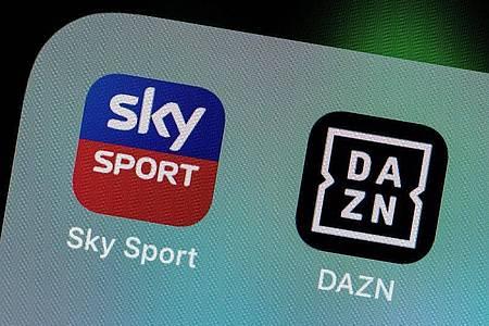 Sky und DAZN schicken aus Sicherheitsgründen keine Journalisten zum Supercup-Finale in Budapest. Foto: Rolf Vennenbernd/dpa