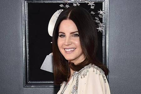 Lana Del Rey bei der Verleihung der 60. Grammy Awards 2018. Foto: Evan Agostini/Invision/AP/dpa