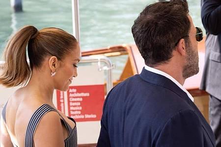 Schon zuvor waren Ben Affleck und Jennifer Lopez in der Stadt gesehen worden. Foto: Cinzia Camela/LPS via ZUMA Press Wire/dpa