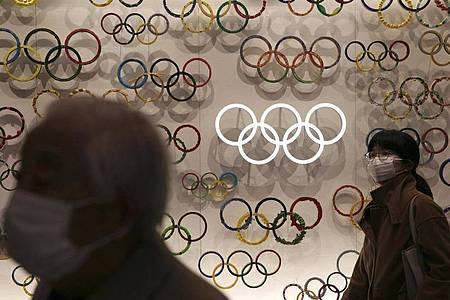 Die Olympischen Spiele sind für Ende Juli in Japan geplant. Foto: Jae C. Hong/AP/dpa