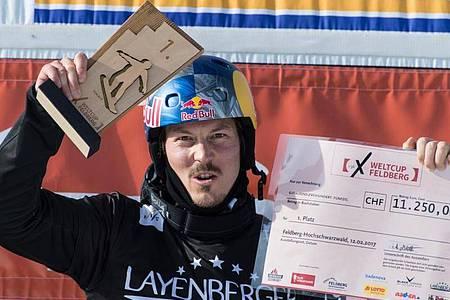 Kam bei einem Schwimm-Unfall ums Leben: Ex-Snowboard-Weltmeister Alex Pullin. Foto: picture alliance / Patrick Seeger/dpa