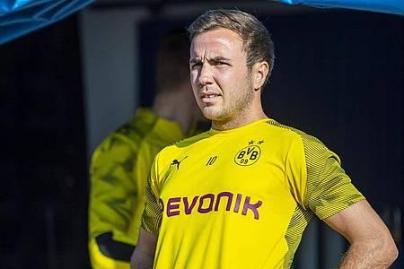 Auch Mario Götze ist auf der Suche nach einem neuen Verein. Foto: David Inderlied/dpa