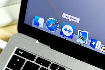 Das Teamviewer-Fernwartungs-Programm lässt sich ab sofort auch für Videokonferenzen nutzen. Foto: Edith Geuppert/dpa/dpa-tmn
