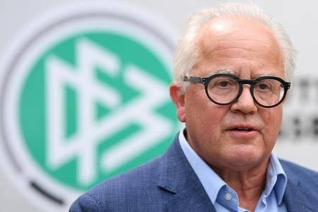 Fritz Keller ist der Präsident des Deutschen Fußball-Bundes (DFB). Foto: Arne Dedert/dpa