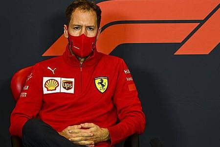 Verlässt nach sechs Jahren ohne WM-Titel den Ferrari-Rennstall: Sebastian Vettel. Foto: Mark Sutton/Pool Motorsport Images/dpa