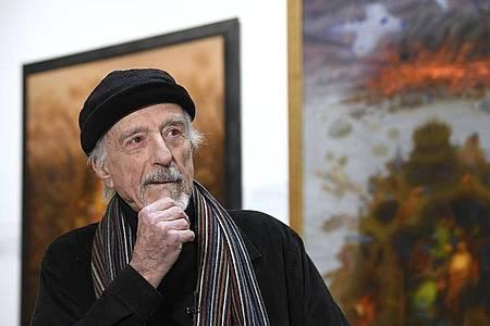 Der Künstler Arik Brauer ist im Alter von 92 Jahren gestorben. Foto: Robert Jaeger/APA/dpa