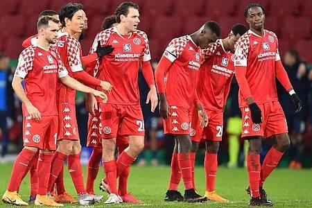 Auch im DFB-Pokal setzte es für Mainz 05 eine Pleite. Foto: Torsten Silz/dpa