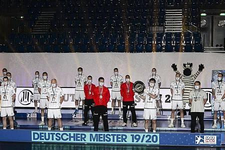 Der THWKiel wird nach Abbruch der Saison in der Handball-Bundesliga zum Meister erklärt. Foto: Frank Molter/dpa
