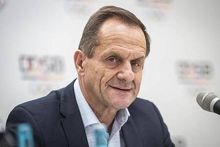 Präsident des Deutschen Olympischen Sportbundes: Alfons Hörmann. Foto: Frank Rumpenhorst/dpa