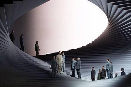 Die Oper «Fidelio» im Theater an der Wien schaffte es auf die Bildschirme. Foto: Monika Rittershaus/THEATER AN DER WIEN/APA/dpa
