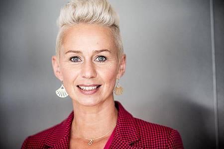 Silvia Breher, Bundestagsabgeordnete der CDU für den Bundestagswahlkreis Cloppenburg-Vechta, aufgenommen bei einem Porträttermin im Bundestag. Foto: Michael Kappeler/dpa