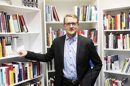 Dr. Matthias Quent, Direktor des Institutes für Demokratie und Zivilgesellschaft, (IDZ). Foto: Bodo Schackow/dpa-Zentralbild/dpa