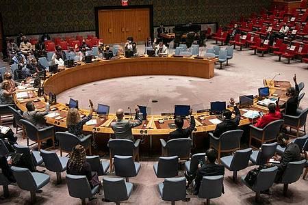 Der UN-Sicherheitsrat hat das Mandat der UN-Unterstützungsmission in Afghanistan bis zum 17. März 2022 verlängert. Foto: Ariana Lindquist/UN Photo/Handout via Xinhua/dpa