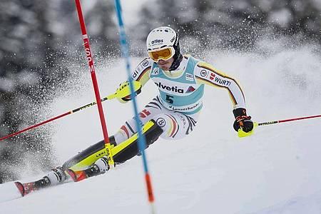 Linus Straßer beim letzten Weltcup-Rennen der Saison in Lenzerheide. Foto: Gabriele Facciotti/AP/dpa