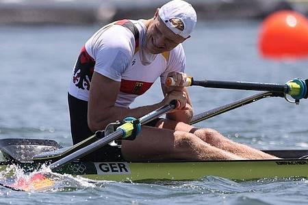 Oliver Zeidler hat das Einer-Finale in Tokio verpasst. Foto: Jan Woitas/dpa-Zentralbild/dpa