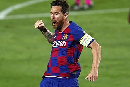 Ob der FC Barcelona siegt oder nicht, hängt viel von Lionel Messis Form ab. Foto: Joan Monfort/AP/dpa