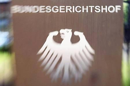 Der Bundesgerichtshof in Karlsruhe verhandelt über Schmerzensgeldansprüche einer Witwe. Foto: Uli Deck/dpa /dpa