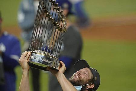 Mookie Betts gewann mit den Los Angeles Dodgers die World Series. Foto: Eric Gay/AP/dpa