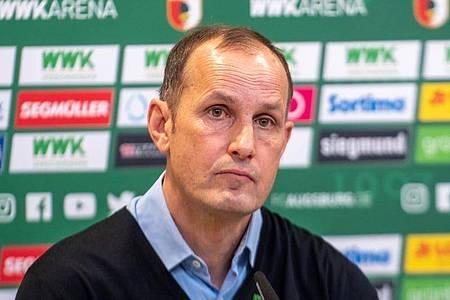 Neu beim FC Augsburg auf der Trainerbank: Heiko Herrlich. Foto: Stefan Puchner/dpa