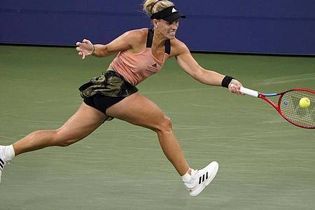 Verpasste bei den US Open das Viertelfinale: Angelique Kerber. Foto: John Minchillo/AP/dpa