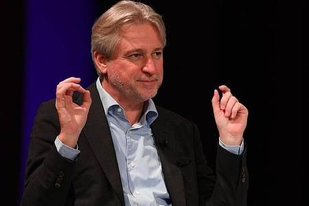 Juergen Boos, Geschäftsführer der Frankfurter Buchmesse. Foto: Arne Dedert/dpa pool/dpa