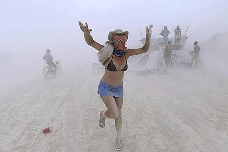 Fans des «Burning Man» werden auch dieses Jahr enttäuscht. Foto: Andy Barron/The Reno Gazette-Journal/AP/dpa