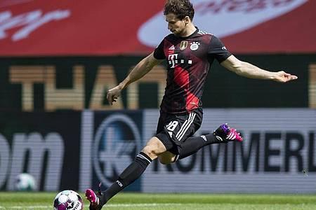 Der FCBayern München hat den Vertrag mit Leon Goretzka verlängert. Foto: Tom Weller/dpa