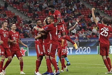 Der FC Bayern München gewann den europäischen Supercup. Foto: Bernadett Szabo/Pool/dpa