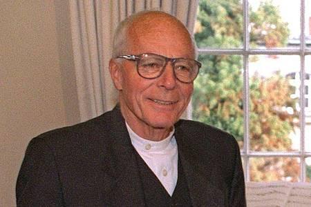 Der Kölner Architekt Prof. Gottfried Böhm ist mit 101 Jahren gestorben. Foto: Hartmut Reeh/dpa
