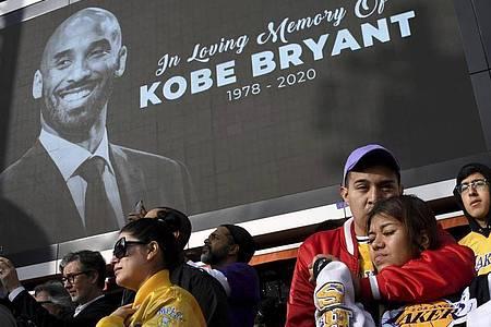 Basketball-Ikone Kobe Bryant kommt bei einem Hubschrauberabsturz mit 41 Jahren ums Leben. Mit ihm starb auch seine 13 Jahre alte Tochter. Foto: Keith Birmingham/The Orange County Register/AP/dpa