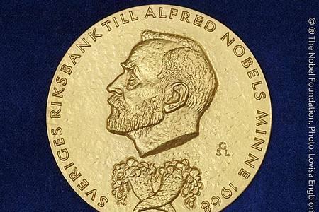 Der Wirtschaftsnobelpreis wird seit Ende der 1960er Jahre von der schwedischen Reichsbank gestiftet. Foto: Lovisa Engblom/The Nobel Foundation/dpa
