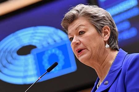 EU-Innenkommissarin Ylva Johansson will gegen die zunehmende Kriminalität in der Europäischen Union vorgehen. Foto: John Thys/AFP Pool/AP/dpa