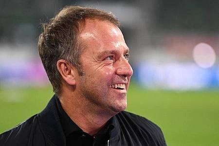 Bundestrainer Hansi Flick sieht sich noch ganz am Anfang. Foto: Sven Hoppe/dpa