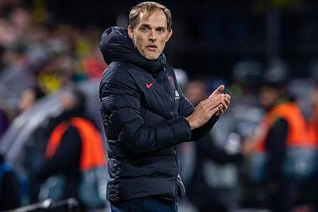 Steht bei PSG offenbar vor dem Aus: Trainer Thomas Tuchel. Foto: Guido Kirchner/dpa