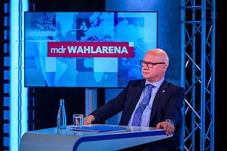 Der einstige Autohändler Oliver Kirchner ist Spitzenkandidat der AfD. Foto: Klaus-Dietmar Gabbert/dpa-Zentralbild/ZB