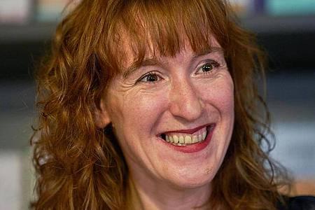 Die Schriftstellerin Nora Bossong. Foto: Thomas Frey/dpa