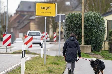 Die Gemeinde Gangelt gilt als Epizentrum der Corona-Pandemie. Foto: Arnulf Stoffel/dpa