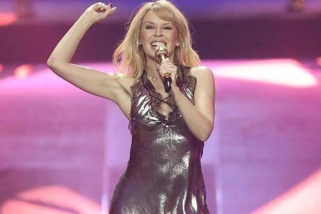 Versprechen und Sehnsucht zugleich:Kylie Minogues neues Album «Disco». Foto: Jörg Carstensen/dpa