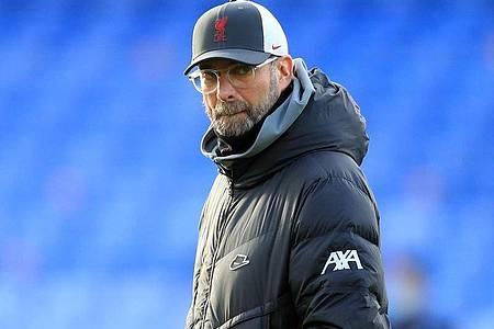 Schaut dem Boxing Day in diesem Jahr etwas enstpannter entgegen: Liverpool-Coach Jürgen Klopp. Foto: Adam Davy/PA Wire/dpa