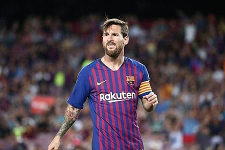 Lionel Messi erwägt einem Bericht des Senders Cadena Ser zufolge, den FC Barcelona im Sommer 2021 zu verlassen. Foto: Joan Valls/Urbanandsport/gtres/dpa