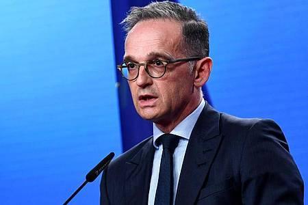 Bundesaußenminister Heiko Maas (SPD). Foto: Annegret Hilse/Reuters-Pool/dpa