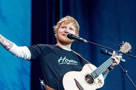 Der britische Singer-Songwriter Ed Sheeran hat sich für 2022 angekündigt. Foto: Ricardo Rubio/Europa Press/dpa