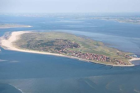 Die ostfriesische Insel Baltrum. Foto: Sina Schuldt/dpa